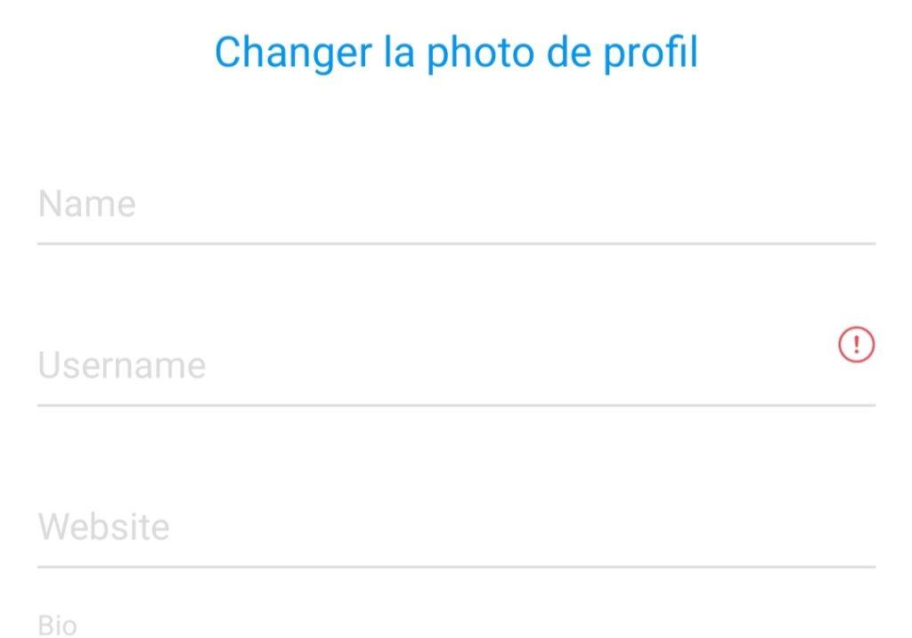 comment changer de nom sur instagram profil